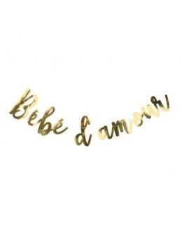 Guirlande Lettres Bébé d'amour