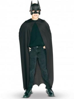 Kit cape et masque PVC Batman™ garçon