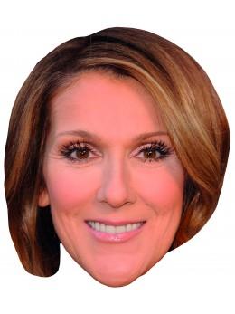 Masque carton Céline Dion