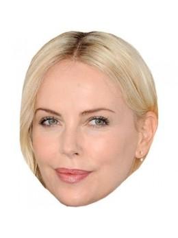 Masque carton Charlize Theron