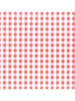 40 serviettes papier ouate vichy
