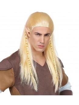 Perruque guerrier blonde