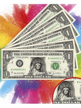 18 Billets dollar statue liberté