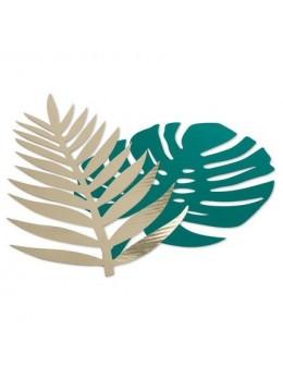 6 Décos feuilles tropicales