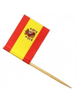 24 Mini drapeaux Espagne