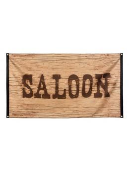 Drapeau tissu Saloon