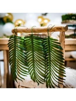 Feuille de palmier verte 35cm