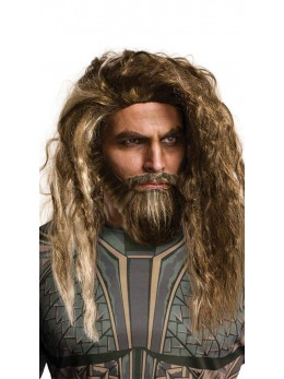 Perruque et Barbe adulte Aquaman