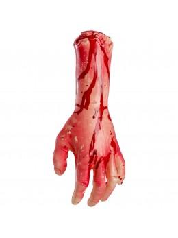 Main coupée ensanglantée