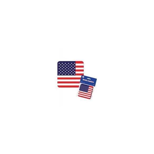 8 Dessous de verre USA