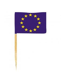 50 mini drapeaux Europe