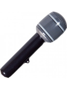 Microphone géant gonflable