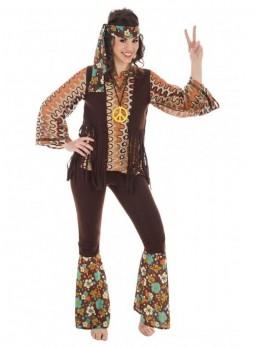 déguisement femme hippie vintage