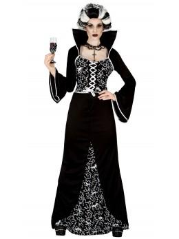 déguisement marquise noire et blanche