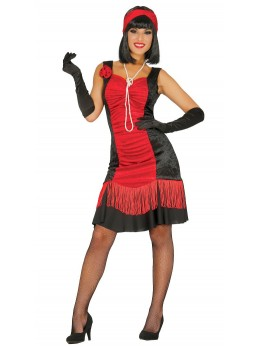 déguisement charleston rouge