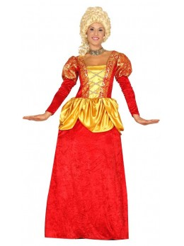 déguisement marquise rouge