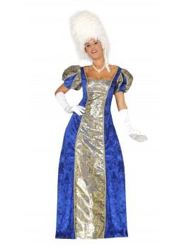 déguisement marquise bleu