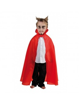 cape vampire rouge enfant