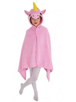Déguisement cape licorne rose enfant