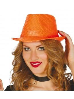 Borsalino Sequin orange fluo