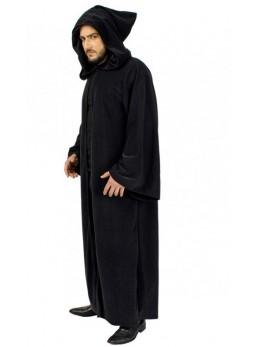 Déguisement manteau jedi capuche noire