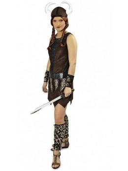 Déguisement femme viking