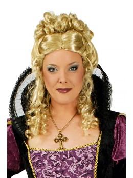 Perruque princesse blonde