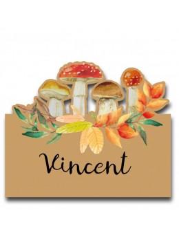 6 Marque place champignon automne