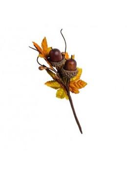 Branche d'automne 2 glands