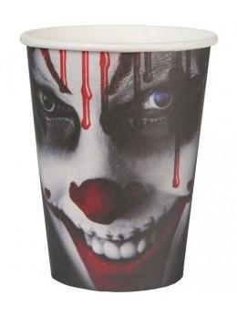 10 Gobelets clown Halloween