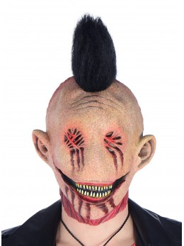 Masque punk brûlé