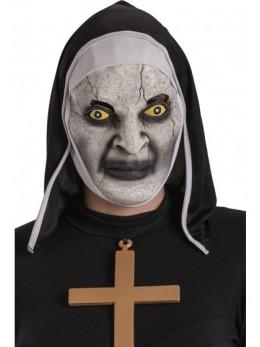 Masque de nonne vampire en latex