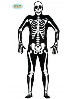 Déguisement seconde peau squelette