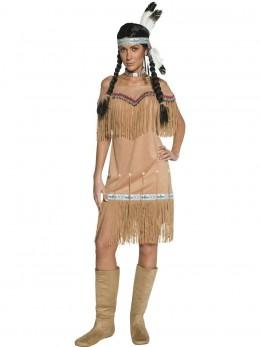Déguisement indienne lady