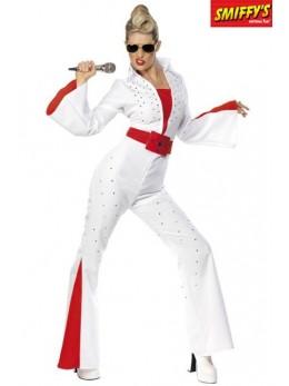 Déguisement Elvis femme