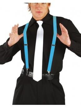 Bretelles fluo turquoise