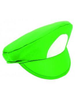 Casquette plombier verte