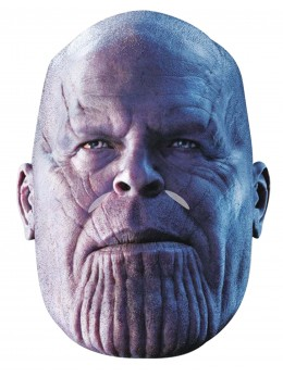 Masque en carton Thanos Avengers Infinity War™ adulte