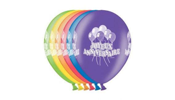 Ballons anniversaires décoration originale