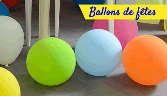Ballons 30cm par 20 décoration originale