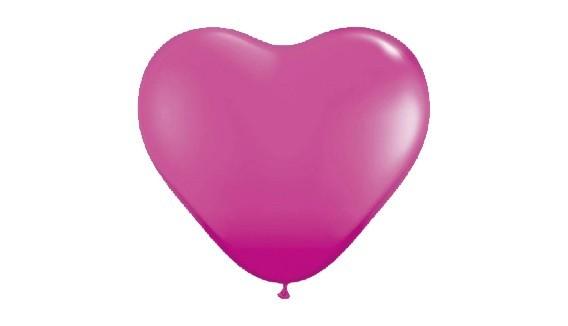 Ballon coeur décoration originale