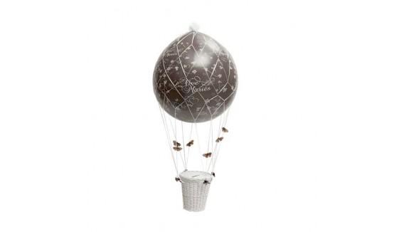 Ballons montgolfières décoration originale