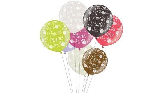 Ballons de mariage géant décoration originale