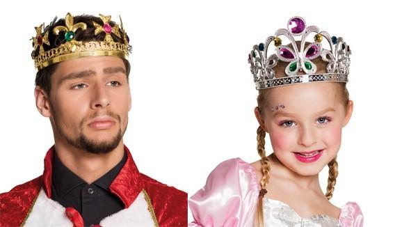 Couronne roi, reine, césar