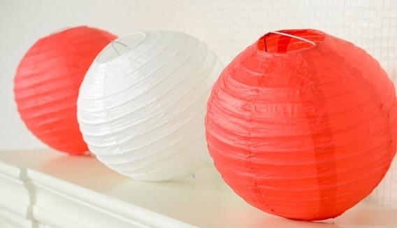 Lampions ,lanternes japonaises