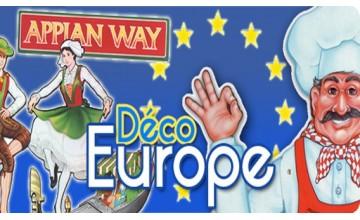 Décorations sur l'Europe