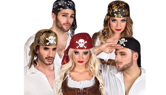 Chapeaux Pirates, tricornes